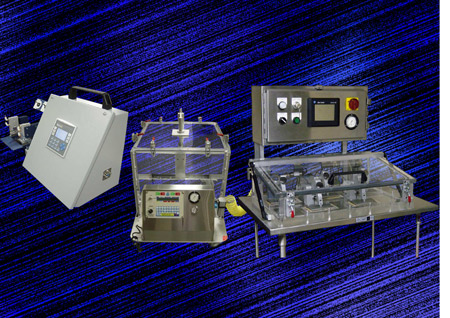 Seal verification and testing equipment range
