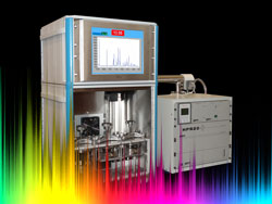 mass spectrometer version of our successful optical fibre vapour permeability measurement system