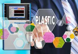 The Vapour permeability of plastics