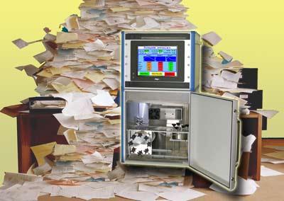 Vapour permeaqbility testing of paper