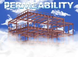 Structural Steel and vapour permeability problems